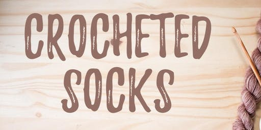 Crocheted Socks with Jonee Davis