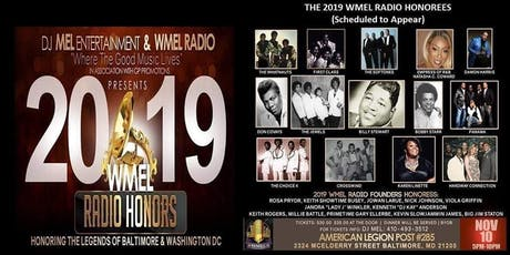 The 2019 WMEL Radio Honors Honoring The Legends Of Soul & R&B tickets