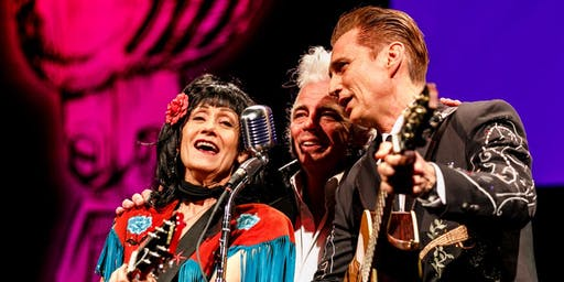 James Intveld 60th B-day Party w Dale Watson and Rosie Flores at Palomino Club