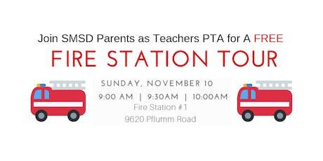 11/10/19 9AM SMSD Parents as Teachers PTA Fire Station Tour tickets