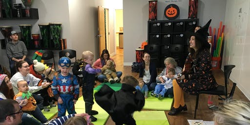 3rd Annual Kids Halloween Music Party!