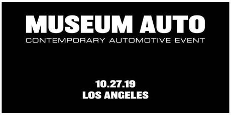 Museum Auto - Contemporary Automotive & Art Event tickets