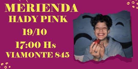 MERIENDA HADY PINK entradas