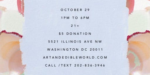 Art & Edible World Tuesday