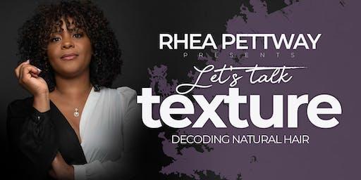 Let's Talk Texture