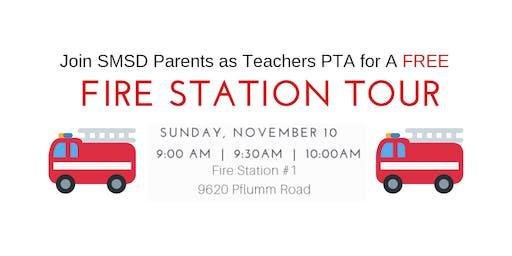 11/10/19 10AM SMSD Parents as Teachers PTA Fire Station Tour
