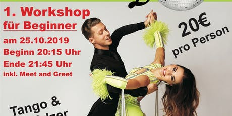 Workshop mit den Stars aus Let´s dance! Tickets