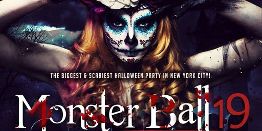 The Monster Ball - NYC's Biggest & Scariest Saturday Night Halloween Party