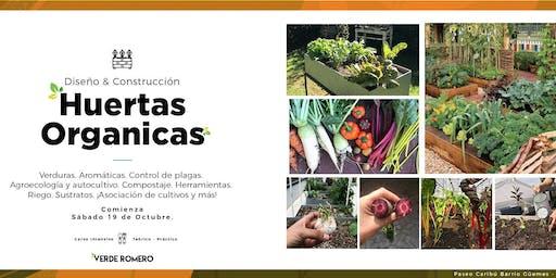 Huertas Orgánicas: Diseño y Construcción
