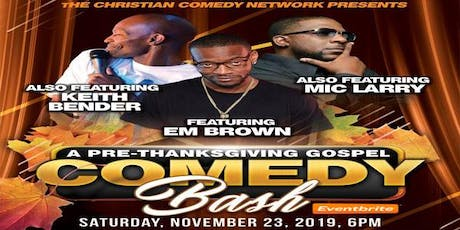 Pre ThanksGiving Clean Comedy Show  tickets