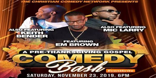 Pre ThanksGiving Clean Comedy Show