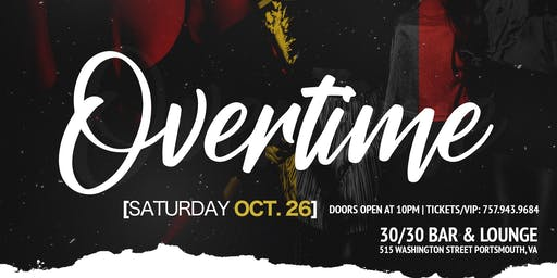 Overtime | Official ODU Homecoming IHCB Event |