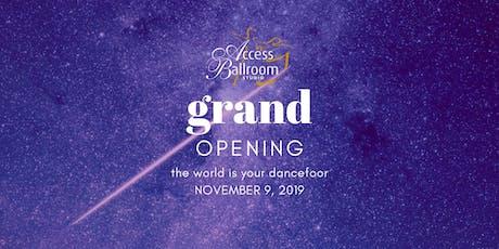Grand Opening Gala tickets