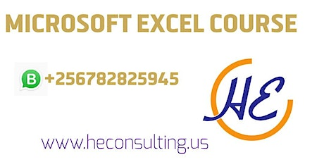 Advanced Excel Training | Best Courses in Uganda 2020, 2021 tickets
