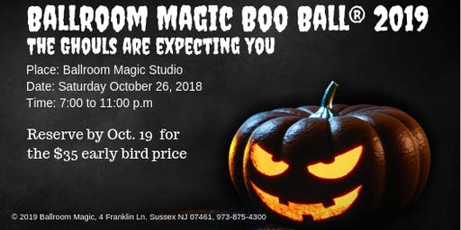 2019 Halloween Boo Ball