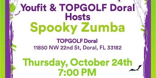 Spooky Zumba Youfit & Topgolf