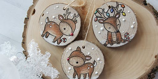 Wood Ornaments Workshop with Lindsay Hurley