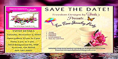 Freedom Designs By Freda's Tea Time Jewelry Party