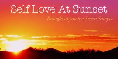 Self love at Sunset