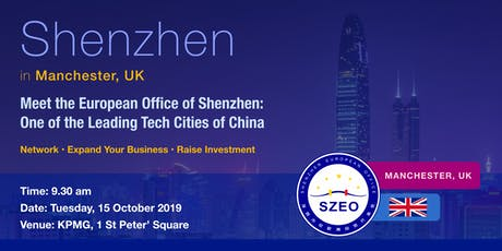 Meet Shenzhen: Network and Expand in China's Leading Tech City tickets