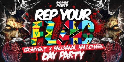 Rep Your Flag - Halloween Day Fete
