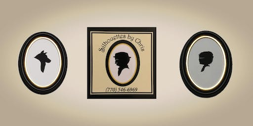 Silhouette Artist Chris Casey at Bricks & Minifigs (Fitchburg, WI)