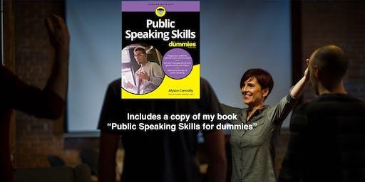 Powerful (but Painless) Public Speaking Workshop - Maximum 10 people