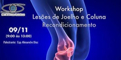Workshop em Lesões de joelho e coluna - Retreinamento