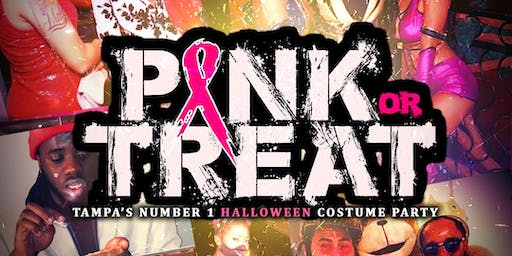 Pink or Treat Halloween Costume Party(Wing Crush)