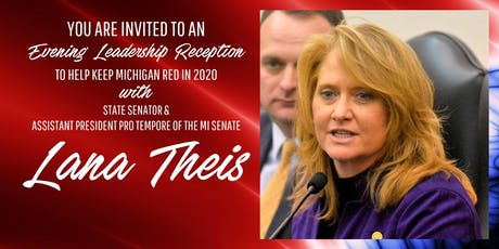 An Evening Leadership Reception with Senator Lana Theis tickets