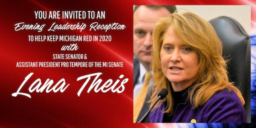 An Evening Leadership Reception with Senator Lana Theis