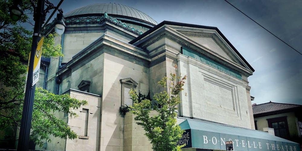 wayne state university Bonstelle Theatre