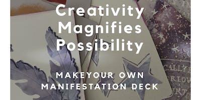 Make your own manifestation deck of cards!