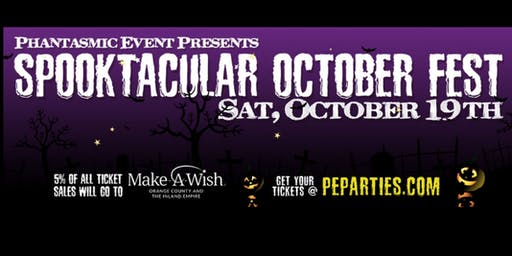Spooktacular October Fest Tickets