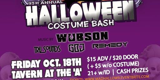 MAD Crew 9th annual Halloween Costume BASH
