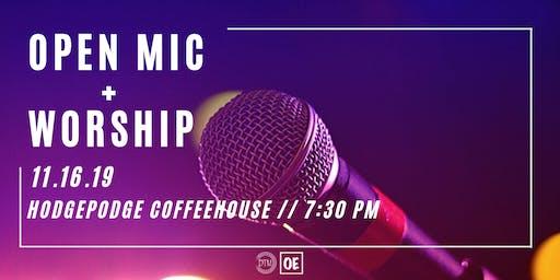 Open Mic + Worship