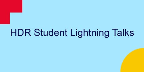 HDR student lightning talks (City) tickets