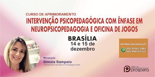 INTERVENÇÃO PSICOPEDAGÓGICA COM ÊNFASE EM NEUROPSICOPED. E OFICINA DE JOGOS