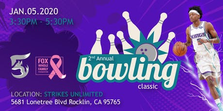 Come bowl with Sacramento Kings De'Aaron Fox and friends tickets