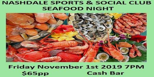 Nashdale Sports & Social Club Seafood Night