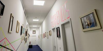 HERRENLOS-Kunstausstellung im groove