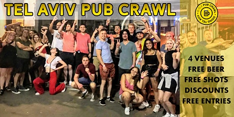 Tel Aviv Pub Crawl tickets
