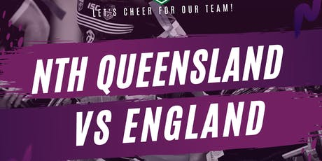 Wheelchair Rugby League - North Queensland v England tickets