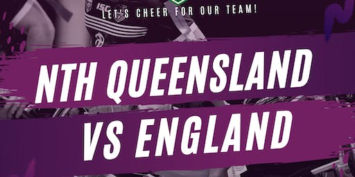 Wheelchair Rugby League - North Queensland v England