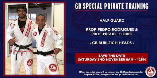 GB Special Private Training at GB Burleigh Heads