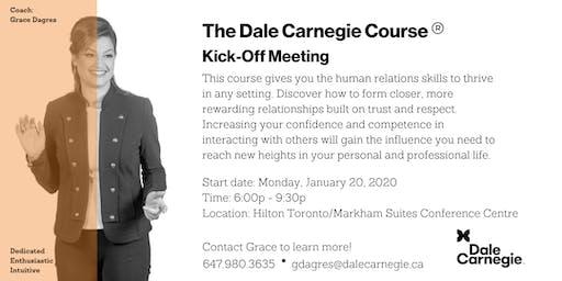 Dale Carnegie Course® - Kick-off (Markham)
