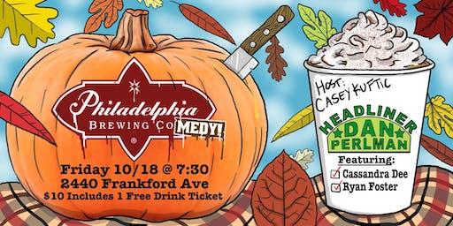 Philadelphia Brewing Comedy w/ Dan Perlman