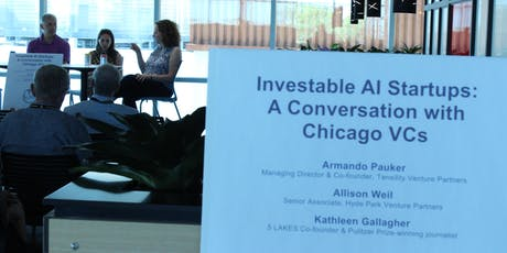 Investable AI Startups: A Conversation with Chicago VCs tickets