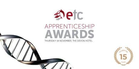 ETC Apprenticeship Awards 2019 tickets