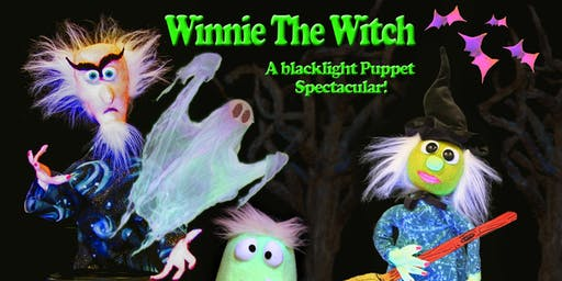 NORTHSIDE Winnie the Witch Glow-in-the-Dark Puppet Show (For Ages 3 and up)